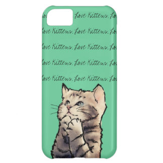love kittens iPhone 5C cases