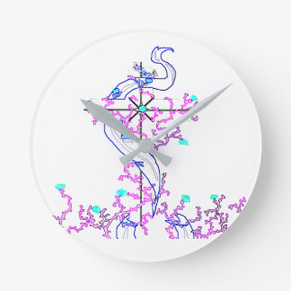 Love Knot Design, Acrylic Wall Clock