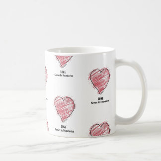 LOVE Knows No Boundaries. Coffee Mug