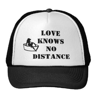 Love knows no distance  Hat