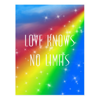 Love Knows No Limits Postcard