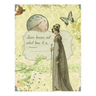 Love Knows no Time Postcard