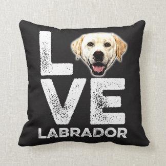LOVE LABRADOR PILLOW