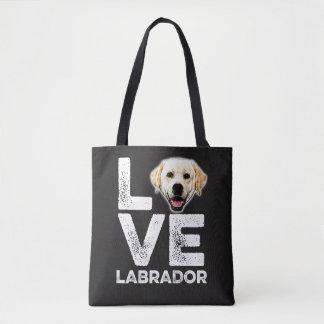 LOVE LABRADOR TOTE BAG