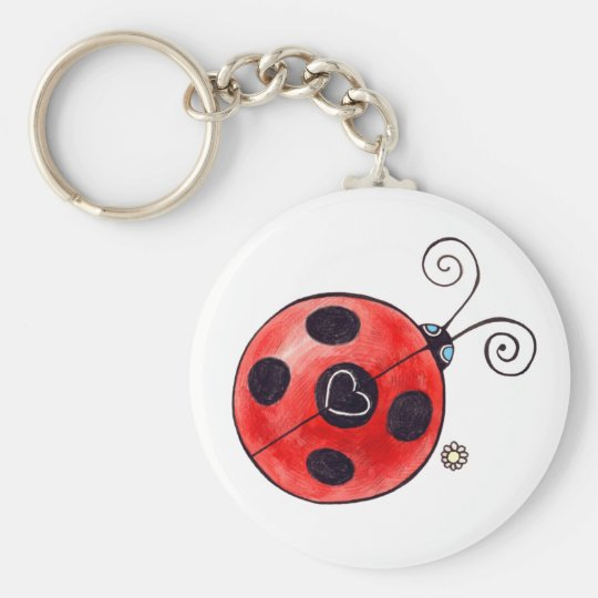 Love Ladybug Keychain