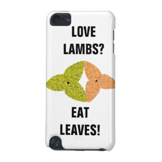 Love Lambs Eat Leaves iPod Case iPod Touch 5G Covers
