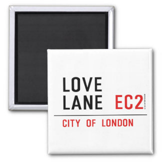 Love Lane Magnet