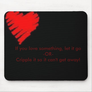 Love Law Mouse Pad