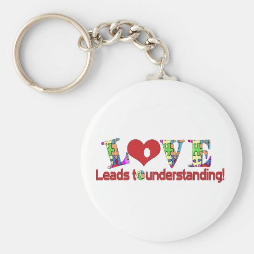 Love Leads Keychains