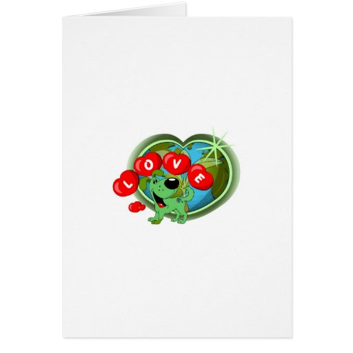Love (Leaf - Earth Day) Cards