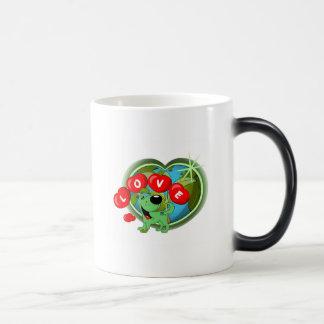 Love (Leaf - Earth Day) 11 Oz Magic Heat Color-Changing Coffee Mug