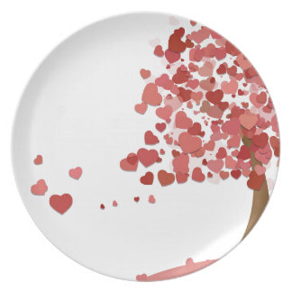 Love Leaves Plate
