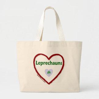 Love Leprechauns Jumbo Tote Bag