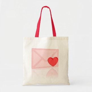 Love Letter Budget Tote Bag