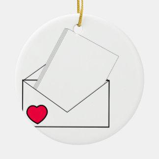 Love Letter Christmas Ornament