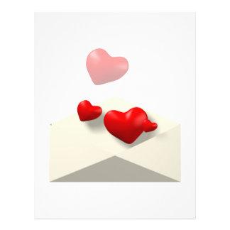 Love Letter Flyer Design