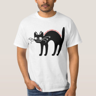 Love letter from my cat: cat etiquette shirts