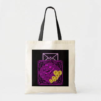 """Love Letter in a Pocket"" Tote bag.* Budget Tote Bag"