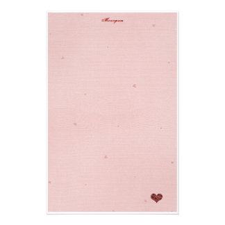 Valentine Letter Custom Stationery Valentine Letter Stationery
