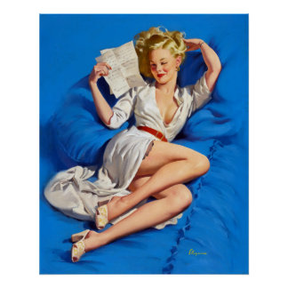 Love Letter Pin Up Poster