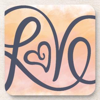 Love Lettering Coaster