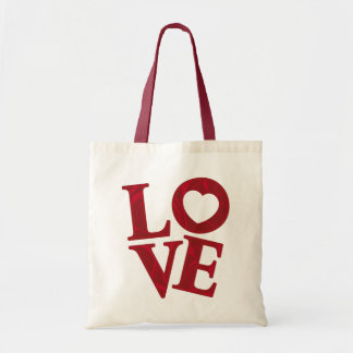 LOVE Letters budget bag