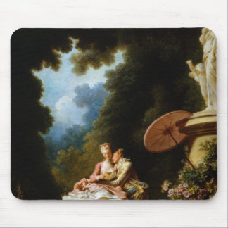 Love Letters by Jean Honore Fragonard Mouse Mat