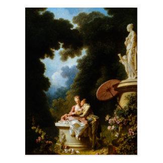 Love Letters by Jean Honore Fragonard Postcard