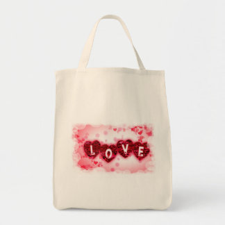 Love Letters Grocery Bag