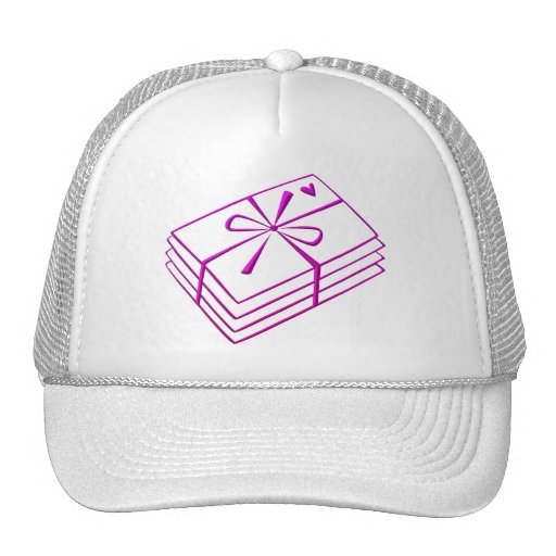 Love letters mesh hat