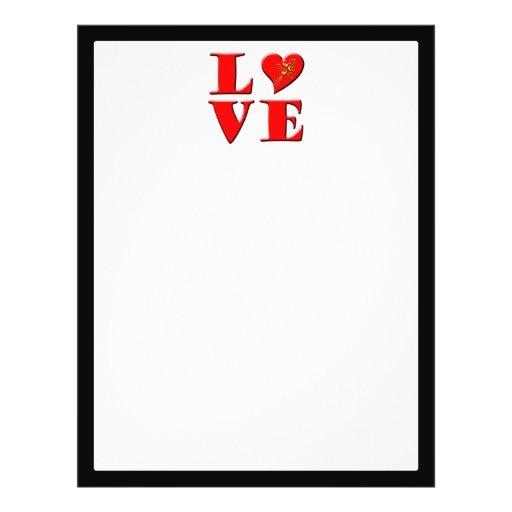 LOVE Letters ( L♥VE) Flyers