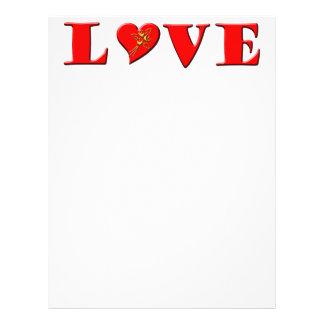 LOVE Letters ( L♥VE) Flyer Design