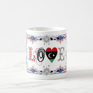 Love Libya Basic White Mug