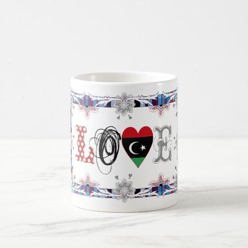 Love Libya Coffee Mugs