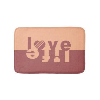 Love / Life bath mats