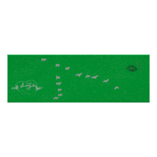 Love Life Collection of 2 Life heart green Poster