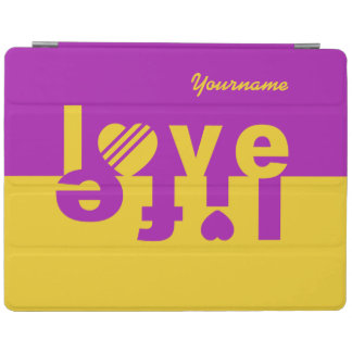 Love / Life custom cases iPad Cover