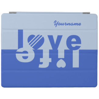 Love / Life custom cases iPad Cover