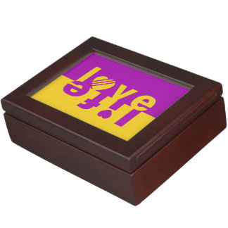Love / Life custom keepsake box
