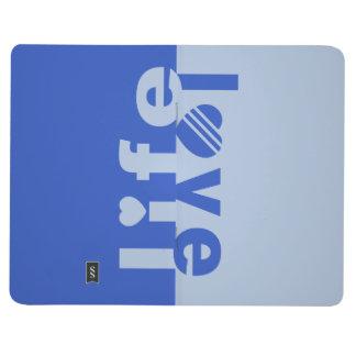 Love / Life custom pocket journal