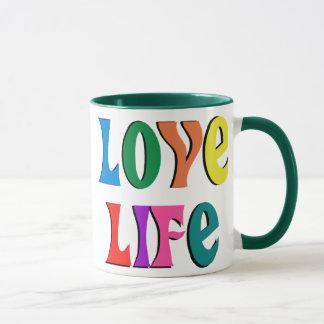 LOVE LIFE! customizable christian message Mug