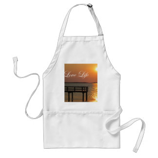 Love Life - Dock and Sunset Standard Apron