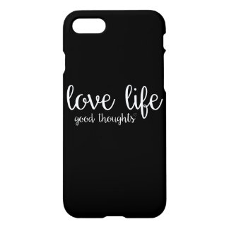 Love Life :: Good Thoughts iPhone 7 glossy iPhone 7 Case