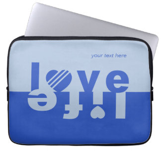 LOVE LIFE laptop sleeves