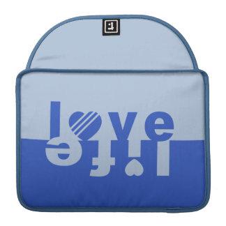 LOVE LIFE MacBook sleeves