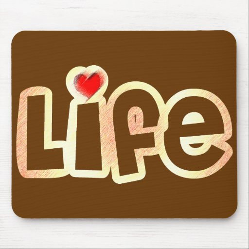Love Life Mouse Pads