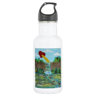 Love, Life, Peace 532 Ml Water Bottle