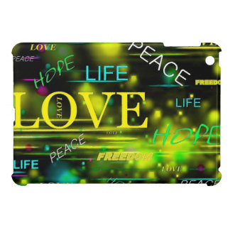 Love,Life,Peace Cover For The iPad Mini