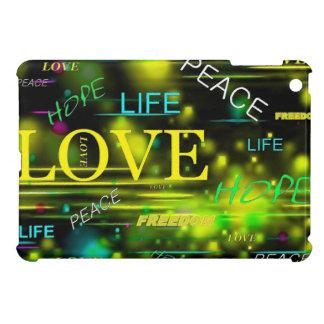 Love,Life,Peace iPad Mini Cover