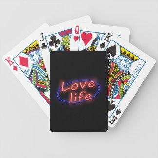 Love life. poker deck
